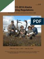 2013 2014 Alaska Hunting Regulations