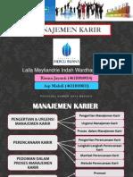 Manajemen Karir (Kel 14) - Ppt