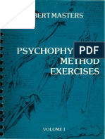 Robert Masters - Psychophysical Method Exercises Vol I