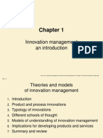 Innovation management & New Product Develpment Trott Ch-1
