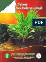 Petunjuk Teknis Pembibitan Kelapa Sawit