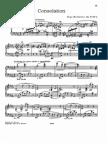 Morceaux Op. 17, n. 4 Consolazione