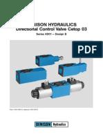 Elettrovalvole Denison Hydraulics