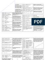 Ma Thematic A Cheat Sheet