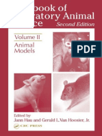 Handbook of Laboratory Animal Science - Vol II