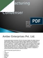 Condenser Manufacturing