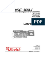 PCIUT3100sdkLV - PCIUT 3100 software development kit.
