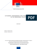 Conciencia Sobre Politica Regional Eu 2013