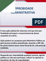 Direito Administrativo Módulo Básico - Aula 39 - Controle da Adm. Pública (Parte III)