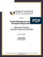 Obtained From SQA Difference Between Iso 9001 and as 9100