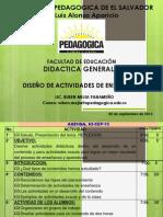 12 PRESENT DISEÑO DE ACTIVIDADES DE ENSEÑANZA