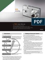 User Guide Samsung L700 User Guide English