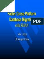 Larkin_Database Migration With RMAN