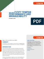 WP Demystifying Tempdb