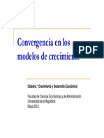2012 06 25 L.muinello ConvergenciaenModelosdeCrecimiento