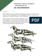 Dachshund Handbook