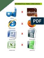 Informática Comparação Sistemas Operacionais, Navegadores, Editores de Texto e Planilhas