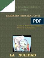 Derecho Procesal Civil - UNIDAD VI