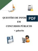 Questões de Informática em Concursos Públicos