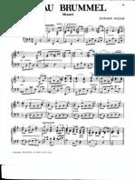 Edward Elgar - Beau Brummel (Solo Piano)