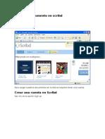 Crear Documento Con Scribd