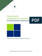 Pioneering the Energy Resource Economic Future