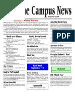 9-4-09 FWBBC Campus News