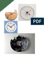 Clock Materials