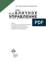 Публичное управление - Чиркин В.Е.
