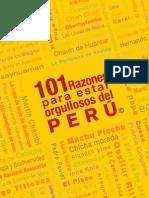 101 Razones Para Estar Orgulloso de Peru