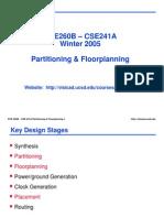 Ece260b w05 Partition Floorplan