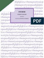 Informe Pedro Paramo