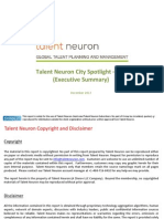 Talent Neuron City Spotlight - Fes