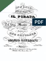 Sinfonia Il Pirata