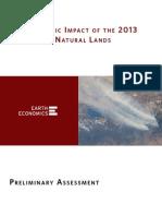 Earth Economics Rim Fire Report 11.27.2013