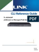 Tl-sg3424p v2 Cli Reference Gu