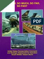Desert Storm Military Airlift History