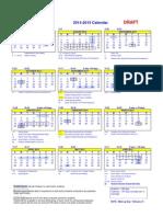 2014-2015draftcalendar