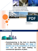 1  Power Plant Commissioning Preparations