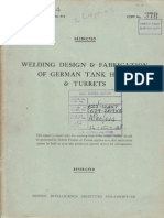 Welding and Fabrication of German Tank Hulls