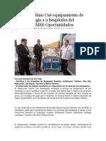 23-12-13 Entrega Gabino Cué equipamiento de alta tecnología a 9 hospitales del Programa IMSS