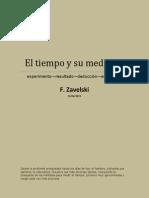 El Tiempo y Su Medicion F. Zavelski