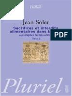 Sacrifices et interdits alimentaires dans la bible  -  TOME 3.pdf