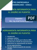 Herramienta Informatica para el Diseño de Puentes 2013