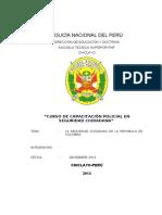 Seguridad Ciudadana en Colmbia Ets