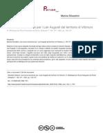 Silvestrini - Una Nuova Iscrizione Per i Lari Augusti Dal Territorio Di Vibinum
