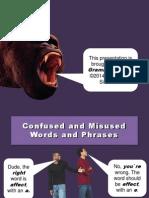 Confusedwords - Grammar Bytes - Lab Lesson