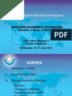 Operador Económico Autorizado, desafíos y retos a nivel global - OMA