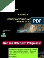 CM001 CAP9.- IDENTIFICACIÓN DE MATERIALES PELIGROSOS