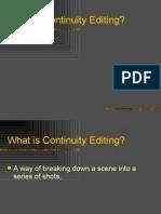 Continuity Editing Y11S1